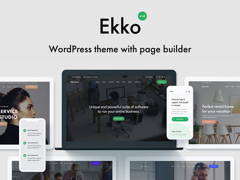 Ekko WordPress Theme
