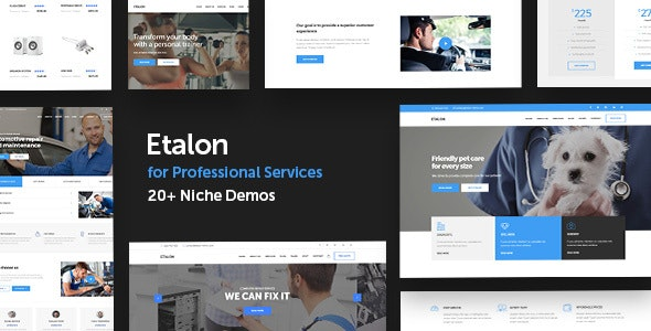 Etalon Wordpress Theme Documentation