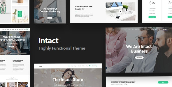 Intact Wordpress Theme Documentation