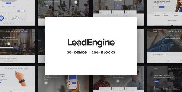 Leadengine Wordpress Theme Documentation